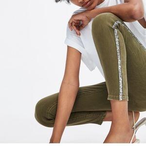 Zara Z1975 Skinny Jean's with Spakle Side Trim